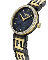 Fendi フォーエバーフェンディ 腕時計 Black