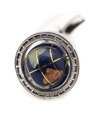 メンズ Tateossian Globe Cage カフスリンク Multicolor