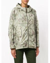Woolrich Green Lightweight Printed Jacket