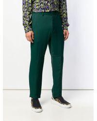 メンズ Just Cavalli スリムパンツ Green