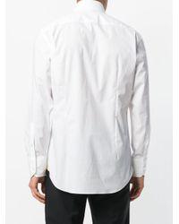 Billionaire White Relaxed Fit Shirt for men