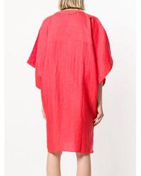 Reality Studio - Pink V-neck Shift Dress - Lyst