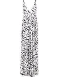 Платье Макси В Горох Proenza Schouler, цвет: White