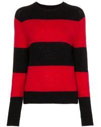 Re/done Black Pullover mit rundem Ausschnitt