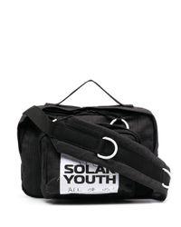 Eastpak Black Slogan Patch Belt Bag