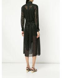 OSMAN ドット ドレス Black