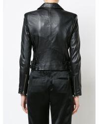 IRO Black Anil Biker Jacket