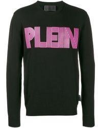 Толстовка С Логотипом Philipp Plein для него, цвет: Black