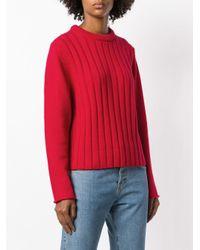 Chloé リブセーター Red