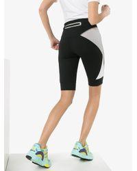 Adidas パネル サイクリングショーツ Black