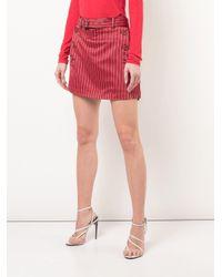 Sies Marjan ベルテッド スカート Red