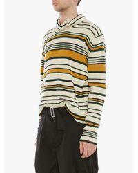 Maglione a righe di J.W. Anderson in Multicolor da Uomo
