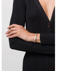 Linear Bead Bracelet Monica Vinader, цвет: Metallic
