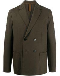 Veste à boutonnière croisée Harris Wharf London pour homme en coloris Green