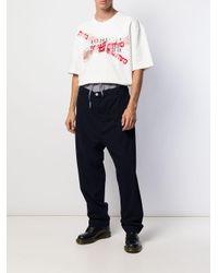 Pantaloni con coulisse di Vivienne Westwood Anglomania in Blue da Uomo