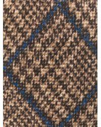 Галстук В Клетку Глен Dell'Oglio для него, цвет: Brown