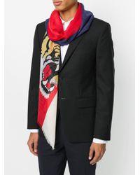 Écharpe Tiger Gucci pour homme en coloris Multicolor