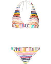 Missoni - Multicolor Zig-zag Bikini - Lyst