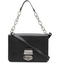 Sac porté épaule à détail d'anneaux DSquared² en coloris Black