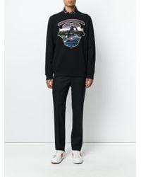 Givenchy - Black Hawai Crest Print Sweatshirt for Men - Lyst