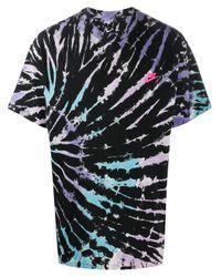 Nike Black Sportswear Tie-dye T-shirt for men