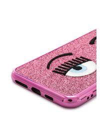 Чехол Для Iphone Xs Max Flirting Chiara Ferragni, цвет: Pink