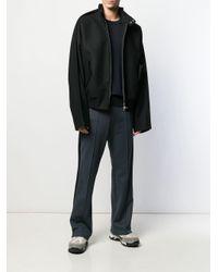 メンズ Maison Margiela エルボーパッチ セーター Blue