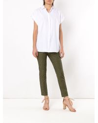Andrea Marques Short Sleeved Shirt White