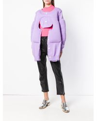 Comme des Garçons - Purple Cut-out Sweater - Lyst