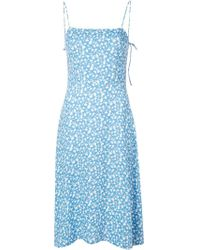 Vestito a fiori di Reformation in Blue