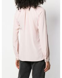Блузка С Цепочным Декором MICHAEL Michael Kors, цвет: Pink