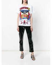 Philipp Plein White I Am A Diva T-shirt