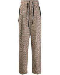 メンズ Vivienne Westwood ハウンドトゥース パンツ Multicolor