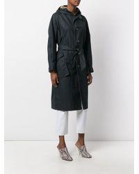 Étoile Isabel Marant Green Donato Gabardine Raincoat