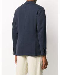 メンズ Frankie Morello シングルジャケット Blue