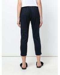 Markus Lupfer - Blue Cropped Sweatpants - Lyst