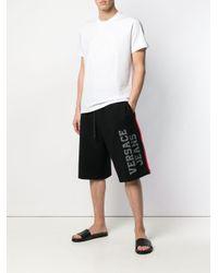 メンズ Versace Jeans ロゴ Tシャツ White