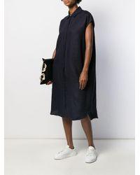 Mackintosh リネン ドレス Borgue Wdr-1002 Blue
