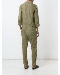 Citizens of Humanity - Green 'tullulah' Jumpsuit - Lyst
