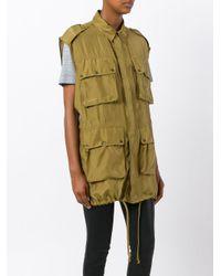 Faith Connexion Green Cargo Vest