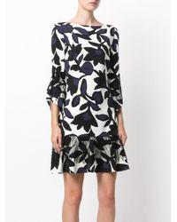 Talbot Runhof White Noleta Dress
