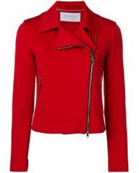 Veste à zip latéral Harris Wharf London en coloris Red