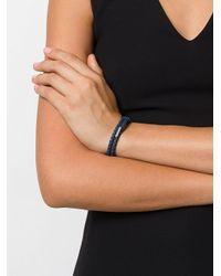 Bottega Veneta - Blue Rope Bracelet - Lyst