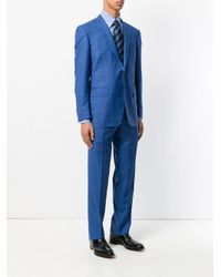 Canali - Blue Classic Formal Suit for Men - Lyst