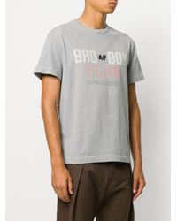 Andrea Pompilio - Gray Badboy Vintage T-shirt for Men - Lyst