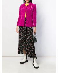 Blazer ajusté en velours Marc Jacobs en coloris Pink