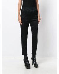 Pantalon crop Haider Ackermann en coloris Black