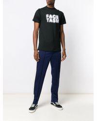 メンズ Facetasm ロゴ Tシャツ Black
