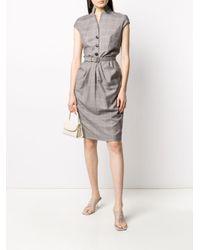 Dior 2000 プレオウンド チェック ドレス Gray