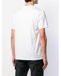 メンズ Neil Barrett Thunderbolt Tシャツ White